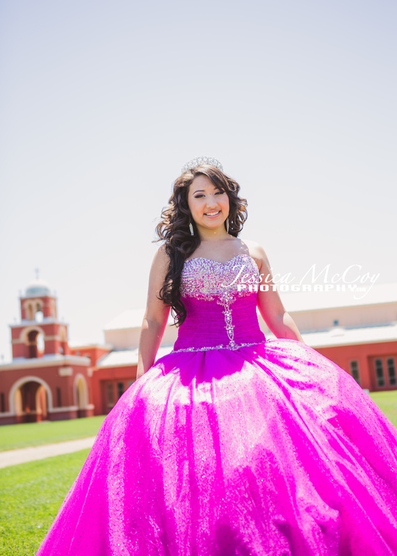 Brentwood, CA quinceanera photos