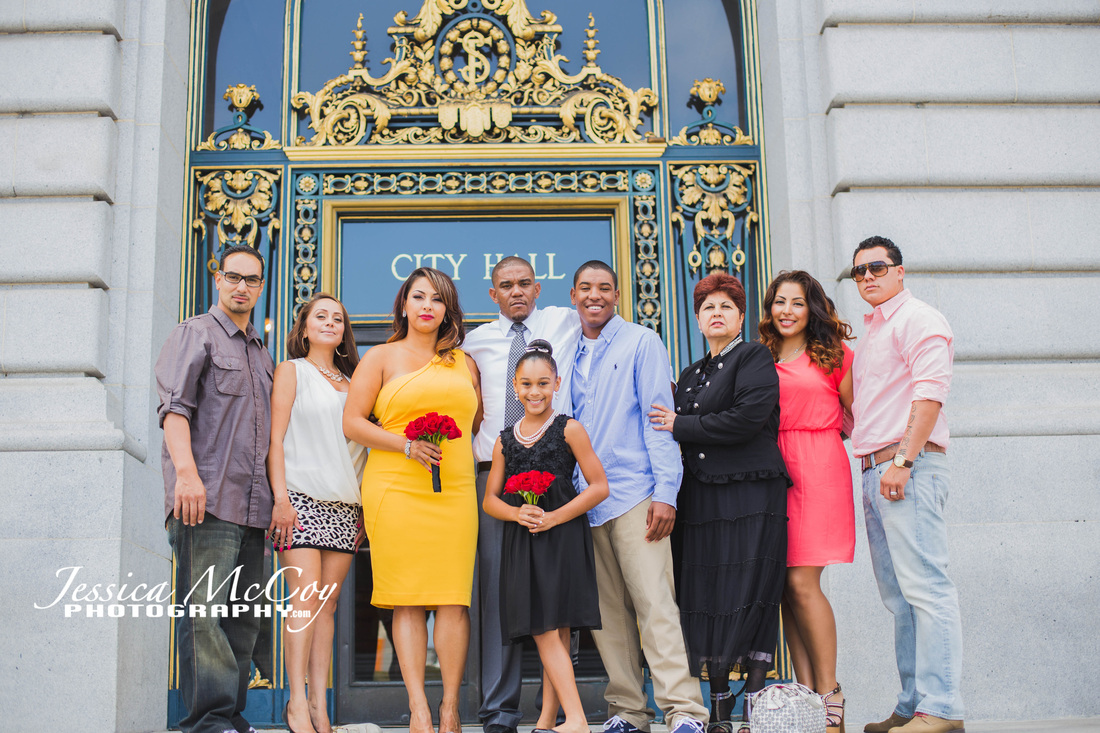 San Francisco city hall wedding Picture